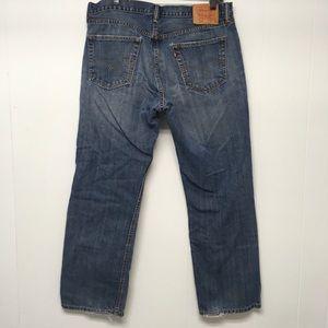 Levi's 559 36 x 30 Men's Jeans All Cotton Frayed